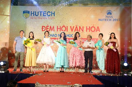 'Dem hoi chao nam hoc moi va Phat dong Miss HUTECH' soi dong - Anh 5
