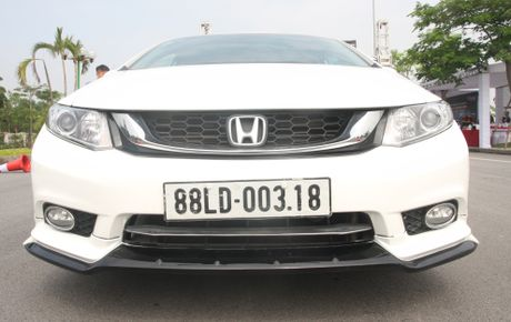 So sanh Honda Civic the he moi va cu o Viet Nam - Anh 6