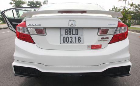 So sanh Honda Civic the he moi va cu o Viet Nam - Anh 8