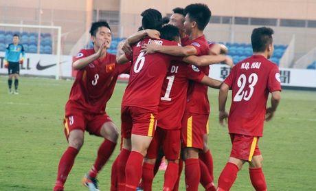 Hoa U19 UAE, U19 Viet Nam rong cua vao tu ket - Anh 1