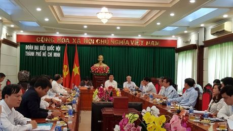 Ong Dinh La Thang lam viec voi Ngan hang Nha nuoc chi nhanh TP.HCM - Anh 1