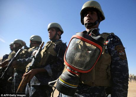 Vu khi va the tran cua quan doi Iraq trong chien dich giai phong Mosul - Anh 11