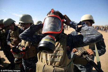 Vu khi va the tran cua quan doi Iraq trong chien dich giai phong Mosul - Anh 12