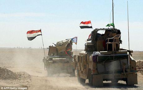 Vu khi va the tran cua quan doi Iraq trong chien dich giai phong Mosul - Anh 15