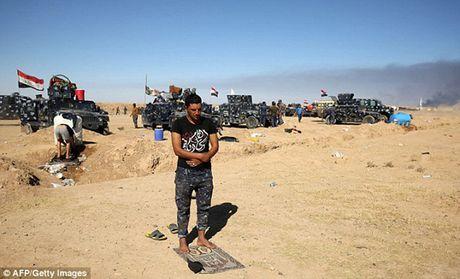 Vu khi va the tran cua quan doi Iraq trong chien dich giai phong Mosul - Anh 2