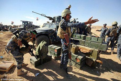 Vu khi va the tran cua quan doi Iraq trong chien dich giai phong Mosul - Anh 3