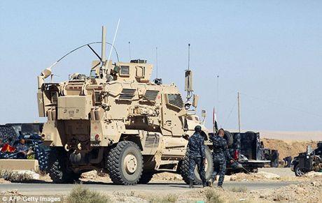 Vu khi va the tran cua quan doi Iraq trong chien dich giai phong Mosul - Anh 5