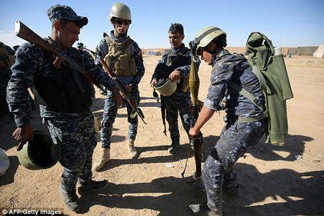 Vu khi va the tran cua quan doi Iraq trong chien dich giai phong Mosul - Anh 7