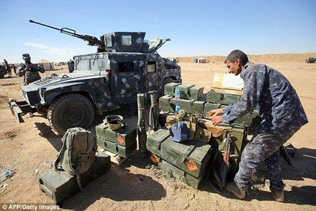 Vu khi va the tran cua quan doi Iraq trong chien dich giai phong Mosul - Anh 9