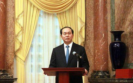 Khac ghi cong lao Hoi Truyen thong duong Ho Chi Minh tren bien - Anh 1