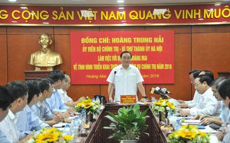 Bi thu Ha Noi: Xu ly nghiem cac du an, cong trinh vi pham - Anh 1