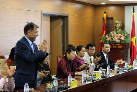 Tong Giam doc VOV gap go Hoi Nha bao Lao - Anh 3