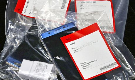 Samsung mac sai lam lon khi chi thu nghiem noi bo pin Note 7 - Anh 1
