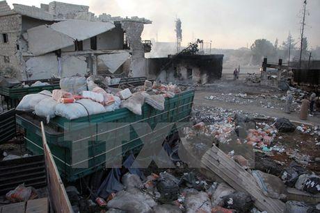 Phien quan Syria bac bo ke hoach rut khoi thanh pho Aleppo - Anh 1