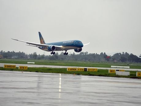Vietnam Airlines dung toan bo cac chuyen bay di den Hai Phong - Anh 1