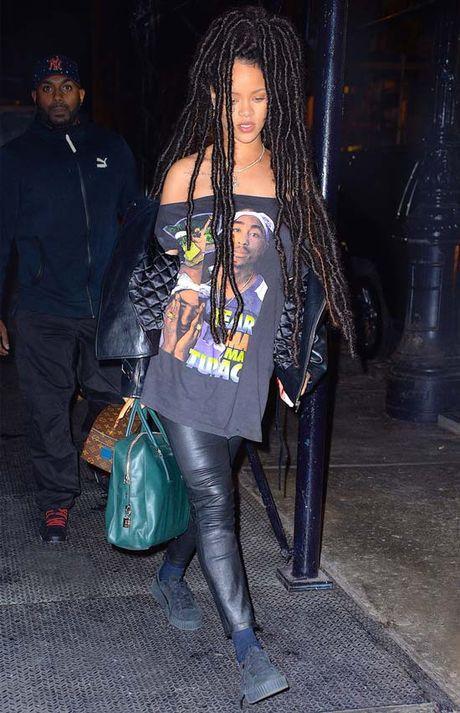 Kylie, Gigi, Rihanna dong loat thay kieu toc ca tinh - Anh 12
