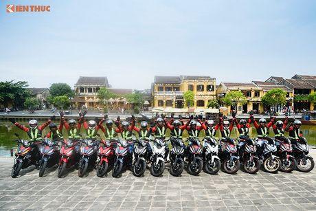Honda Winner 150 'phuot' 650 km chinh phuc cuc Dong - Anh 10