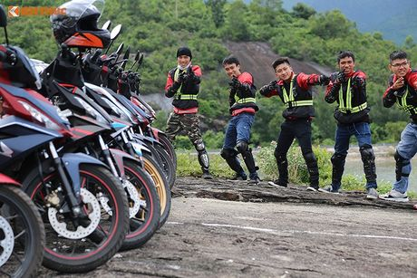 Honda Winner 150 'phuot' 650 km chinh phuc cuc Dong - Anh 5