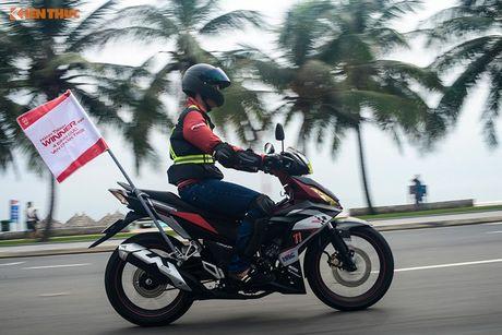 Honda Winner 150 'phuot' 650 km chinh phuc cuc Dong - Anh 8