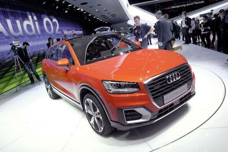 'Lo hang' tai Viet Nam - Crossover mini Audi Q2 moi co gi? - Anh 2