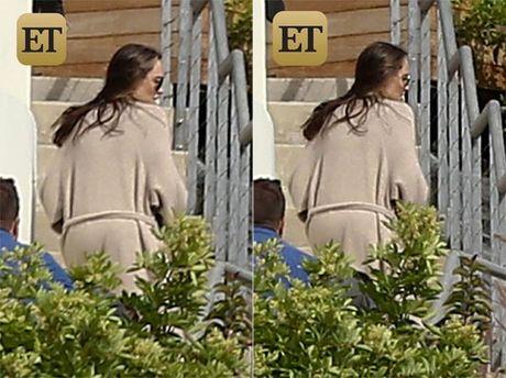 Angelina Jolie lan dau tien xuat hien sau ly hon - Anh 1