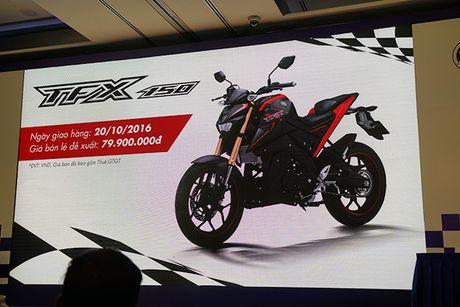 Yamaha TFX150 2016 ve Viet Nam voi gia 80 trieu - Anh 1