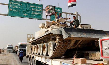 Quan doi Iraq mo chien dich tai chiem Mosul: Tran quyet chien chien luoc - Anh 1