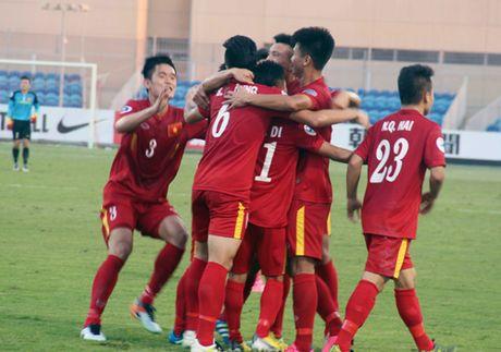 Thieu nguoi, U19 Viet Nam van co diem truoc U19 UAE - Anh 1