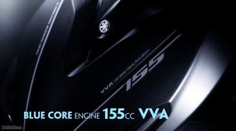 Thong tin so khoi ve Yamaha NVX - dong co BlueCore 155cc, ABS truoc, Smartkey, cop 25 lit... - Anh 1