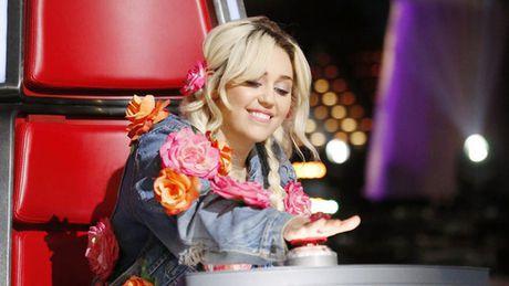 "Co nang noi loan Miley Cyrus: ""Toi khoc nhieu lan o The Voice"" - Anh 1"