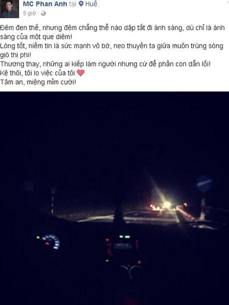 Vuong thi phi 'keu goi tu thien pho truong', MC Phan Anh bat ngo len tieng - Anh 1