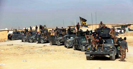 Quan doi Iraq bao vay IS tu nam Mosul, nguoi Kurd danh tu phia dong - Anh 1