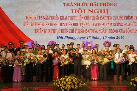 Hai Phong: Phat huy hieu qua thuc hien Chi thi so 05-CT/TW cua Bo Chinh tri - Anh 1