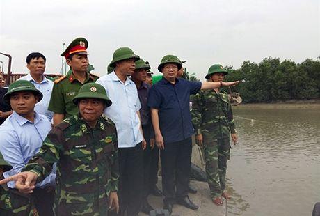 Pho Thu tuong Trinh Dinh Dung kiem tra cong tac phong, chong bao so 7 tai Hai Phong - Anh 1
