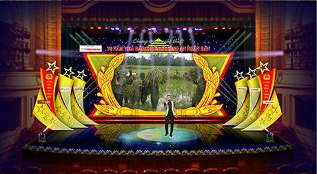 Chuong trinh nghe thuat '70 nam nha bao chien si Cong an nhan dan' truyen hinh truc tiep tren song VTV va ANTV - Anh 1