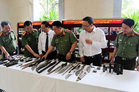Luc luong ' 141' – qua dam thep trong dau tranh phong, chong toi pham cua Cong an Ha Noi - Anh 2