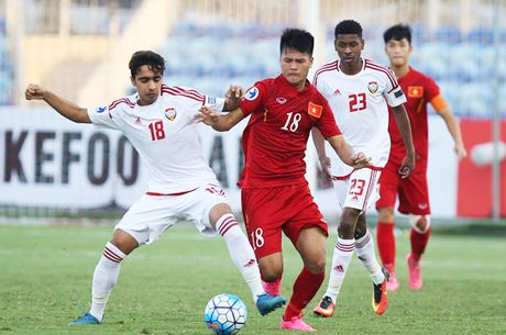 U19 Viet Nam van co the bi U19 UAE loai o loat tran cuoi vong bang - Anh 1