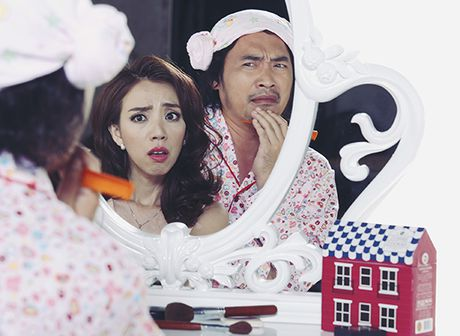 Hari Won hoa ma nu 'hu' Ngo Kien Huy ngat xiu tai cho - Anh 2