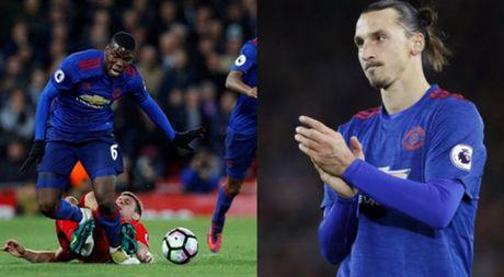 Fan Man United muon Ibrahimovic ngoi du bi, goi Pogba la cu lua the ky - Anh 1