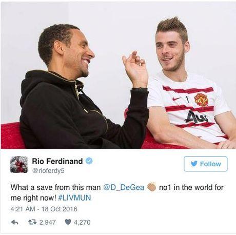 Huyen thoai Manchester United khong tiec loi khen ngoi thu thanh David de Gea - Anh 2