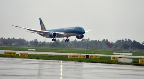 Vietnam Airlines dung toan bo cac chuyen bay di /den Hai Phong ngay 19.10 - Anh 1