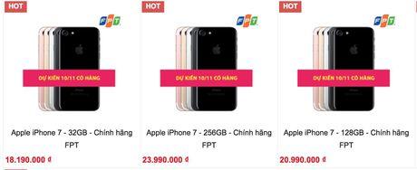 iPhone 7 series chinh hang 'tre hen' khach Viet den thang 11 - Anh 2