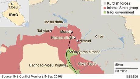Quan Iraq va nguoi Kurd chiem uu the tai Mosul - Anh 2