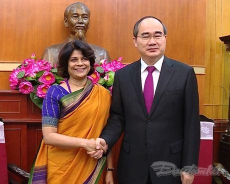 Chu tich Nguyen Thien Nhan tiep Dieu phoi vien Thuong tru cua LHQ tai Viet Nam - Anh 2