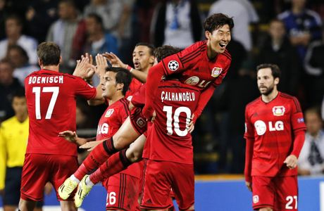 Son Heung Min – nguoi hung thuong hieu cua Leverkusen - Anh 1