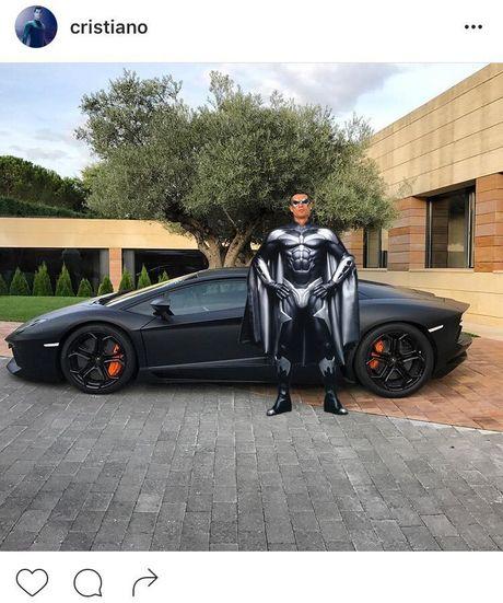Ronaldo hoa nguoi doi, sieu xayda va tho sua xe - Anh 3