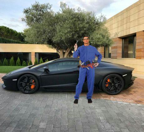 Ronaldo hoa nguoi doi, sieu xayda va tho sua xe - Anh 5