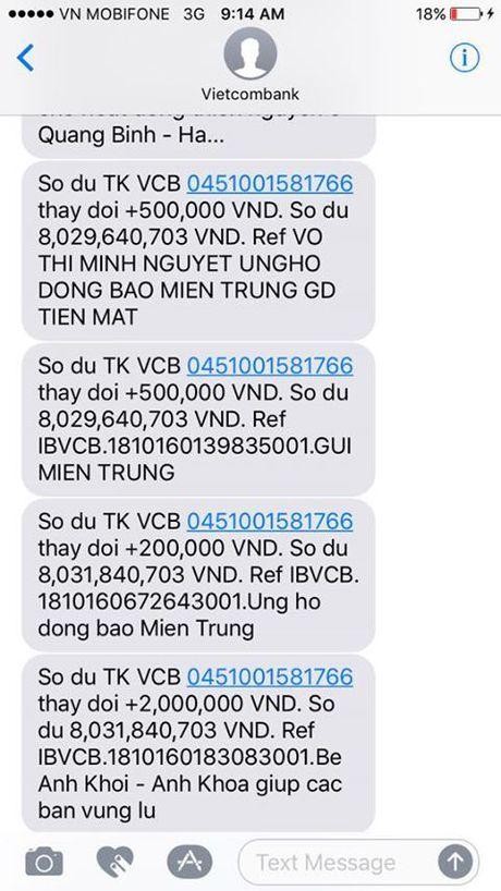 Phan Anh da toi Quang Binh voi 9,3 ty dong - Anh 1