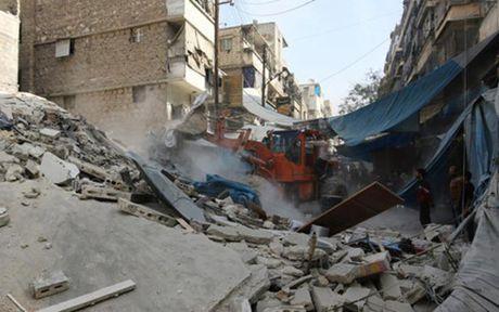 Nga tuyen bo dung khong kich 8 gio tai Aleppo, Syria - Anh 1