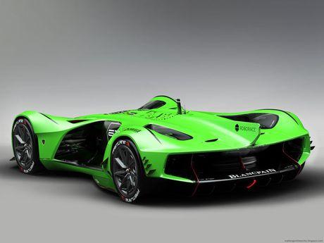 'Ngan ngo' truoc Lamborghini Spectro ban dua khong nguoi lai - Anh 4